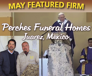 Funeral Home & Cemetery News May Feature