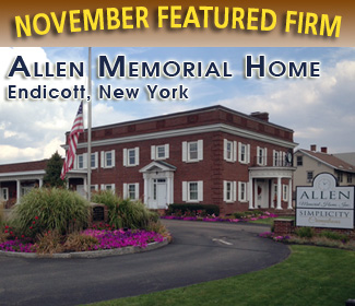 Funeral Home & Cemetery News November Feature